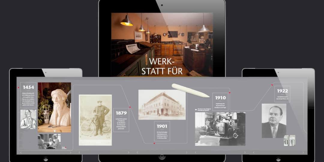 Unternehmenspräsentation als App
