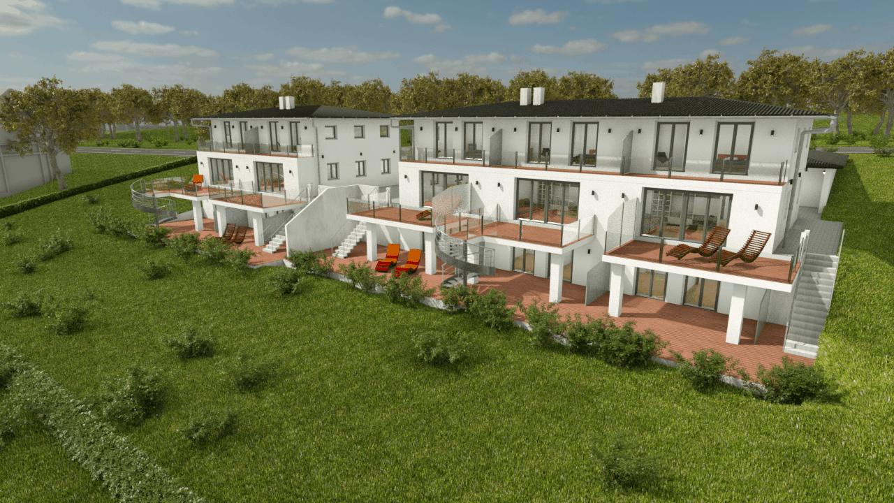 Einfamilienhäuser für Immo-Hausbau / Pastetten