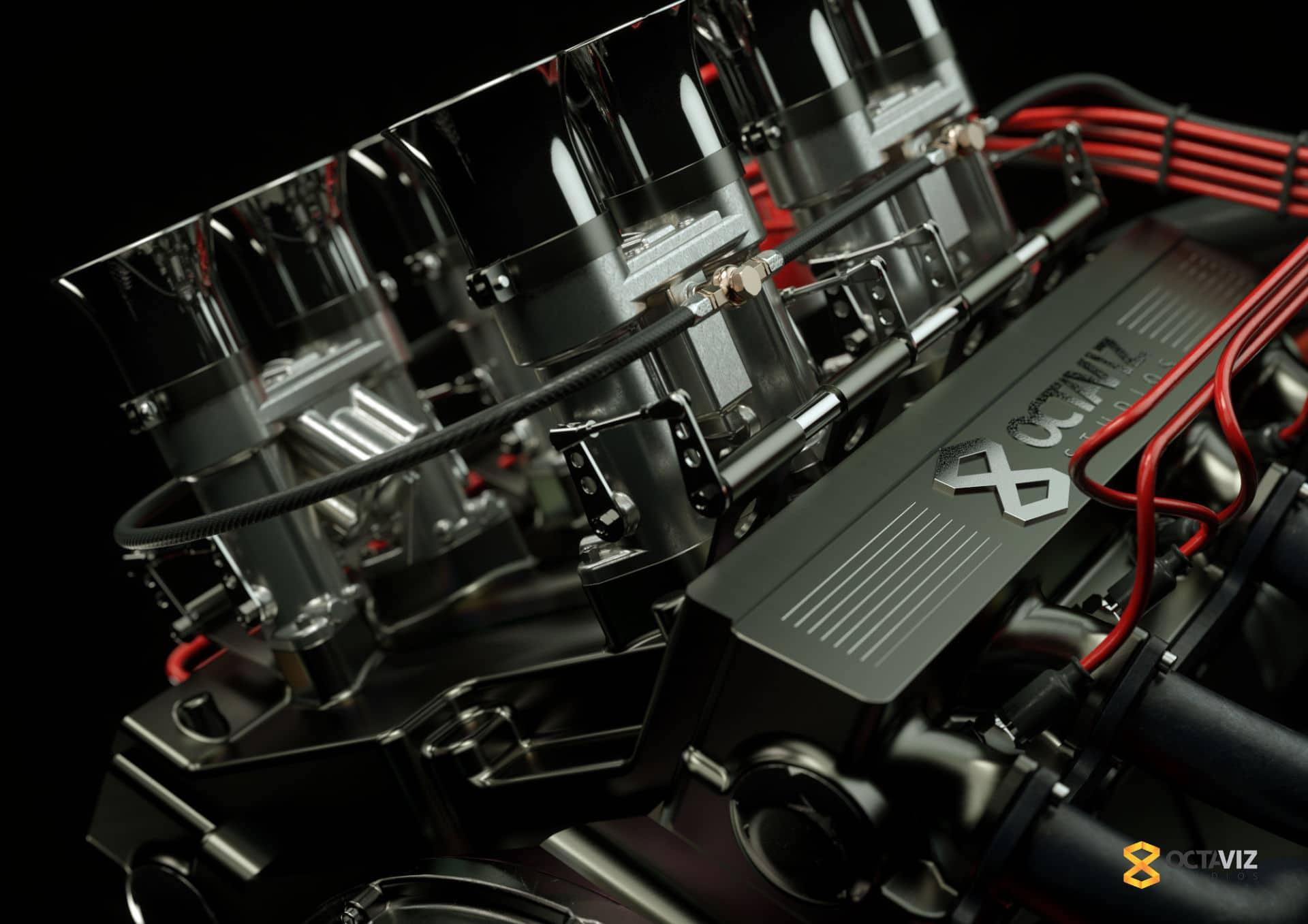 Ford V8 Engine